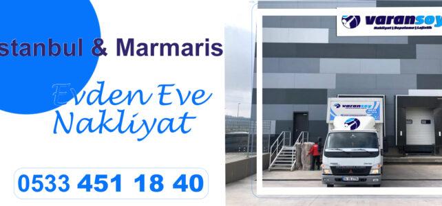İstanbul Marmaris Arası Nakliyat