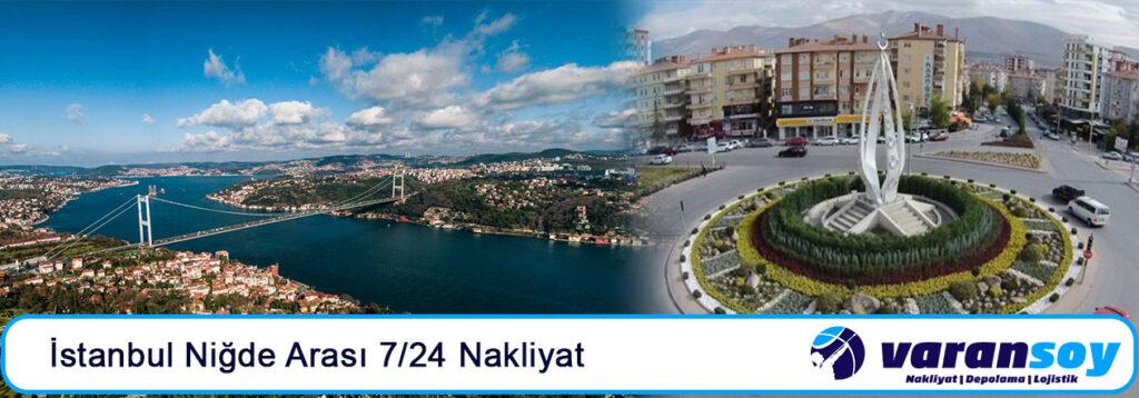 İstanbul Niğde Arası Nakliyat